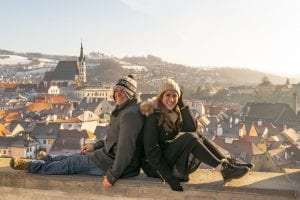 Kate Storm and Jeremy Storm at Cesky Krumlov