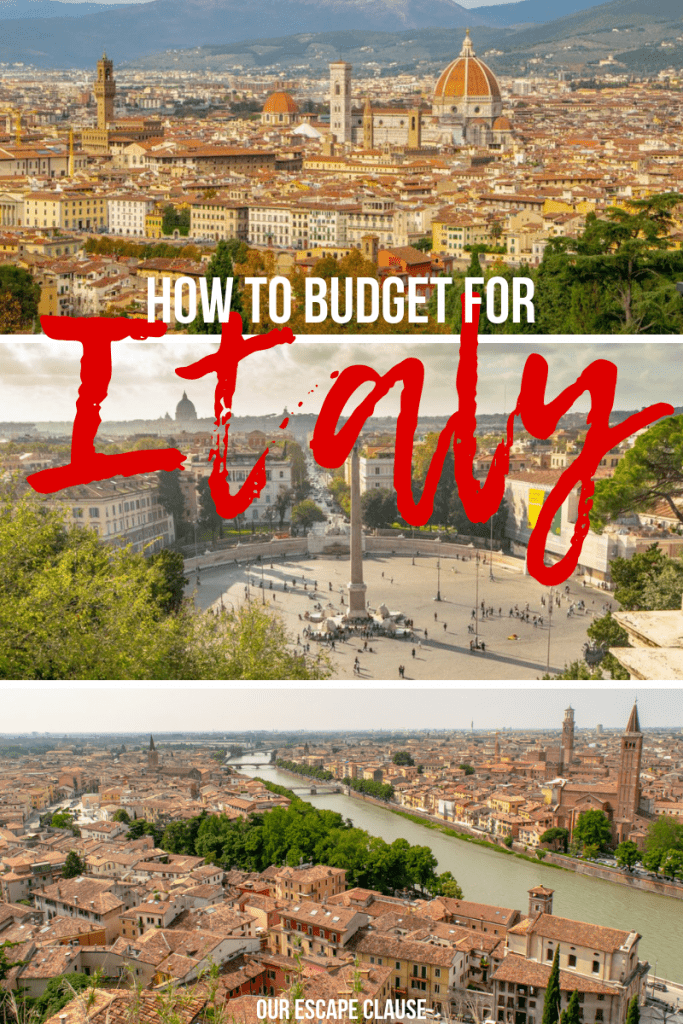 How much does a trip to Italy cost? Find out! #italy #travel #budget #travelbudget