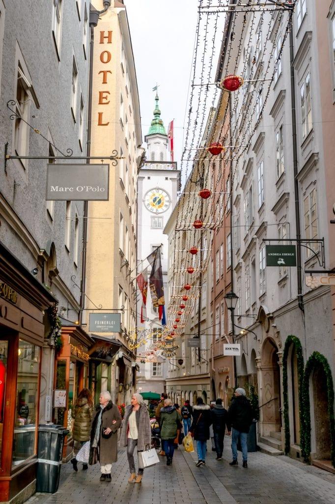 Salzburg in Winter: Altstadt