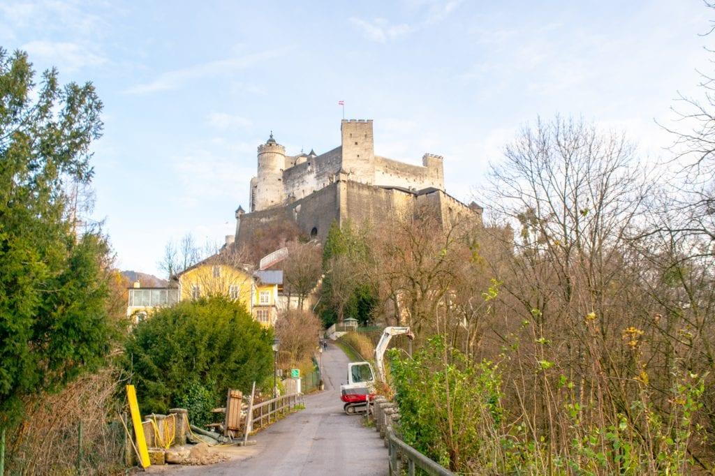 Salzburg in Winter: Hohensalzburg Fortress