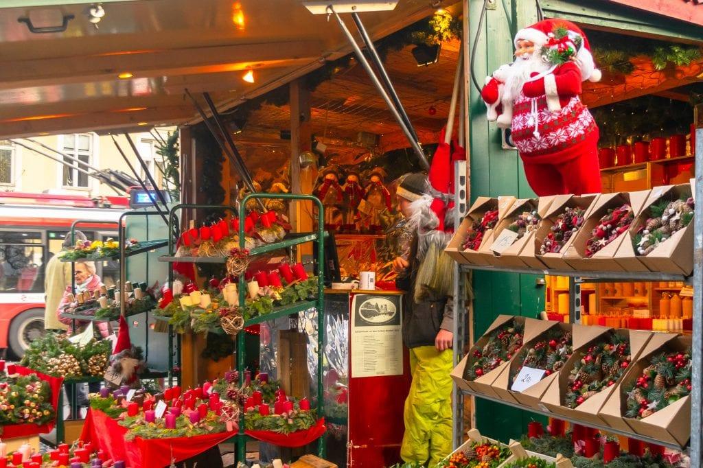 Austria Christmas Market Stall
