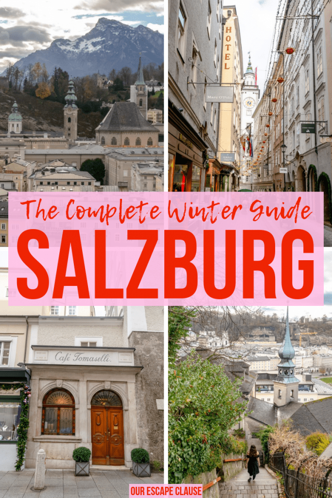 Salzburg in Winter: Christmas Markets & Beyond! #salzburg #austria #winter #travel #christmasmarkets