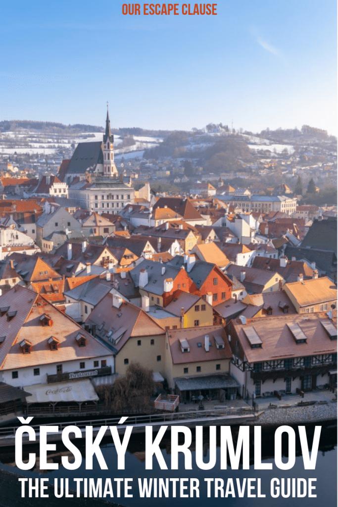 Český Krumlov in Winter: The Ultimate Guide #czechia #czechrepublic #ceskykrumlov #winterineurope