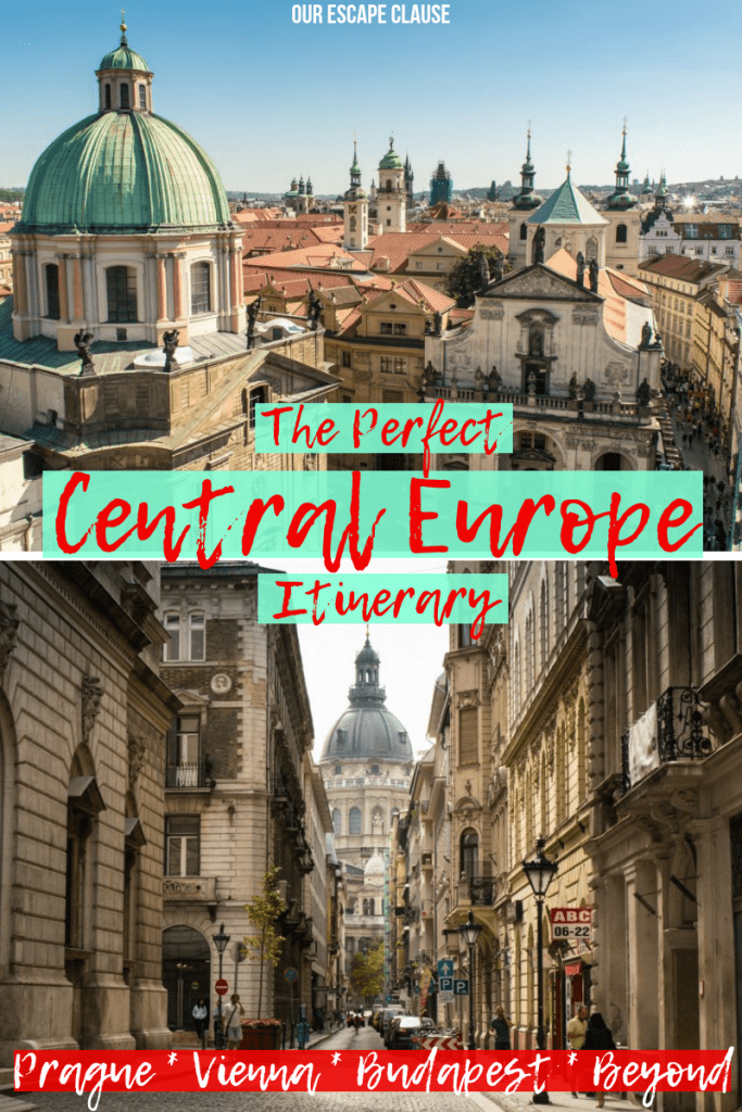 Prague Vienna Budapest Bratislava: The Perfect Central Europe Itinerary #vienna #budapest #prague #bratislava #travel #europe