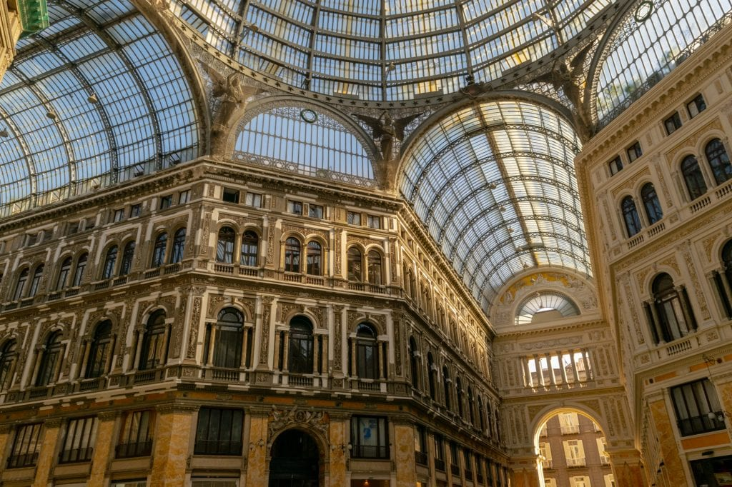 Naples in One Day Itinerary: Galleria Umberto I