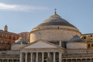 One Day in Naples Itinerary: Top of Church of San Francesco di Paola