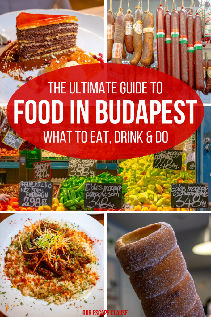Best Food in Budapest: What to Eat & Drink #budapest #hungary #foodguide #travel