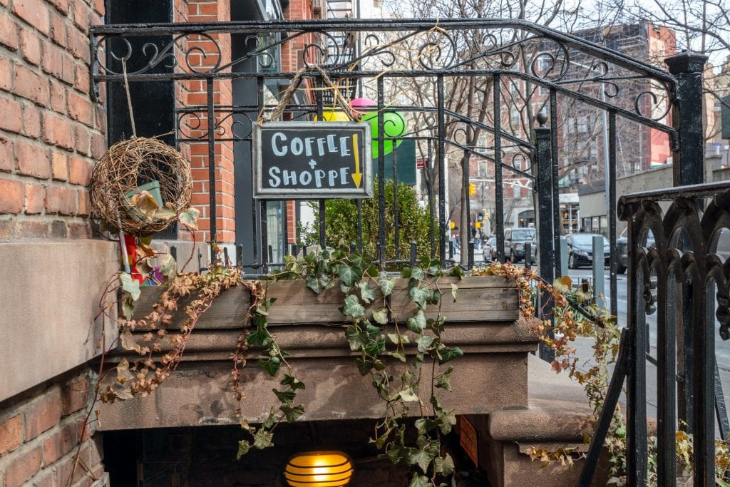 4 Day New York Itinerary: Exterior of Coffee Shop