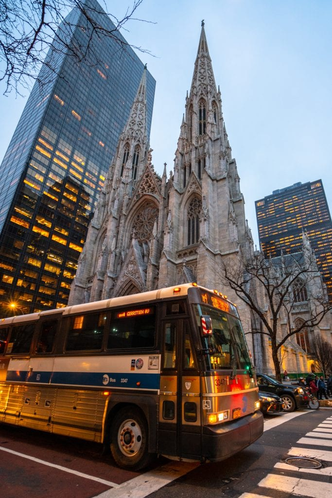 4 Days in New York Itinerary: St. Patrick's Cathedral