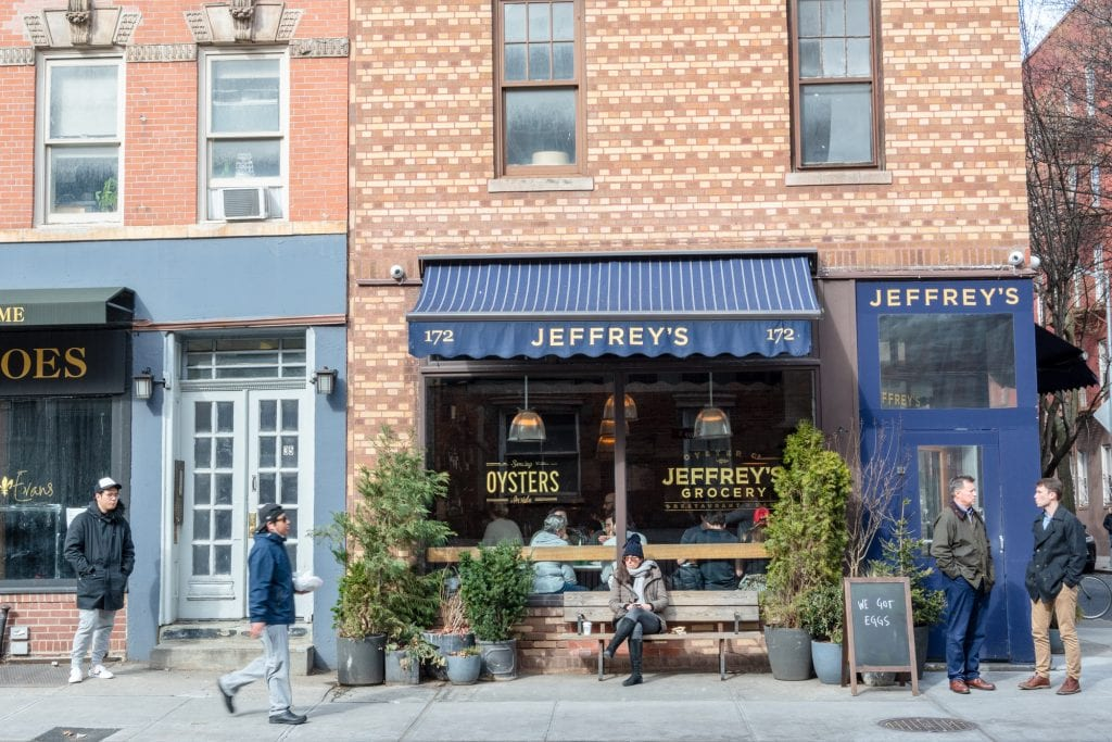 4 Day New York Itinerary: Restaurant in West Village