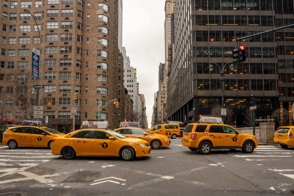 4 Days in New York: Taxis in Midtown