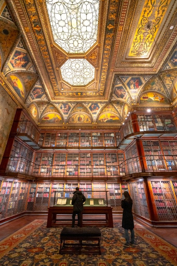 4 Day New York Itinerary: Morgan Library and Museums Interior