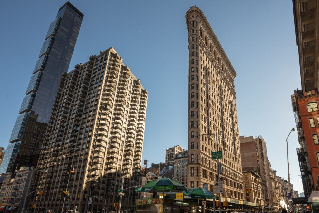 4 Day New York Itinerary: Flatiron Building