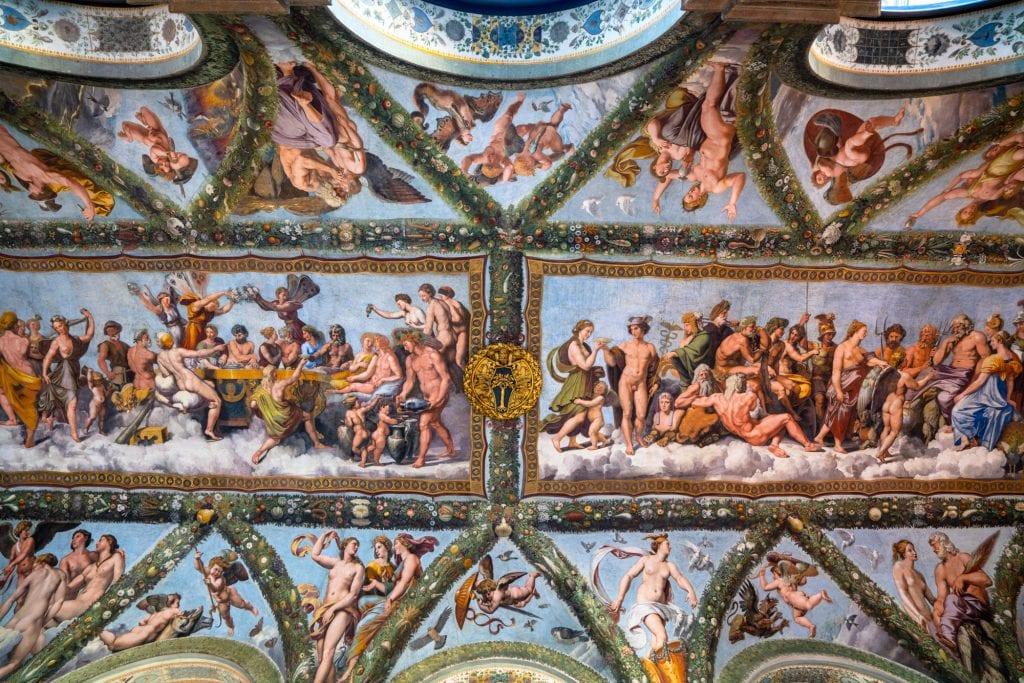 Fresco by Raphael in Villa Farnesina, Most Instagrammable Spots in Rome