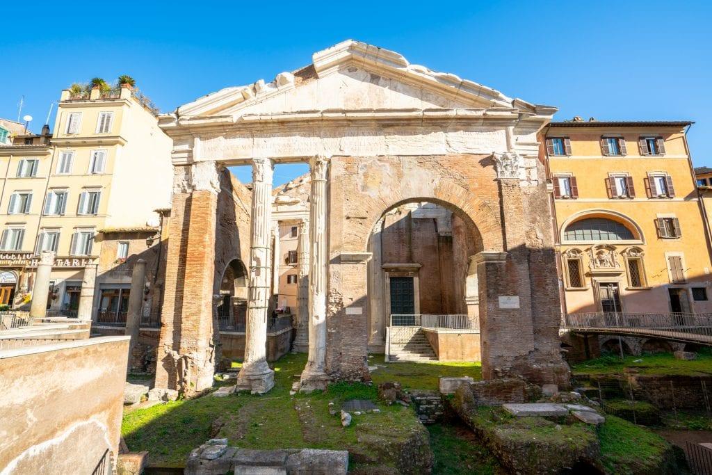 Hidden gems in Rome: Portico of Octavia