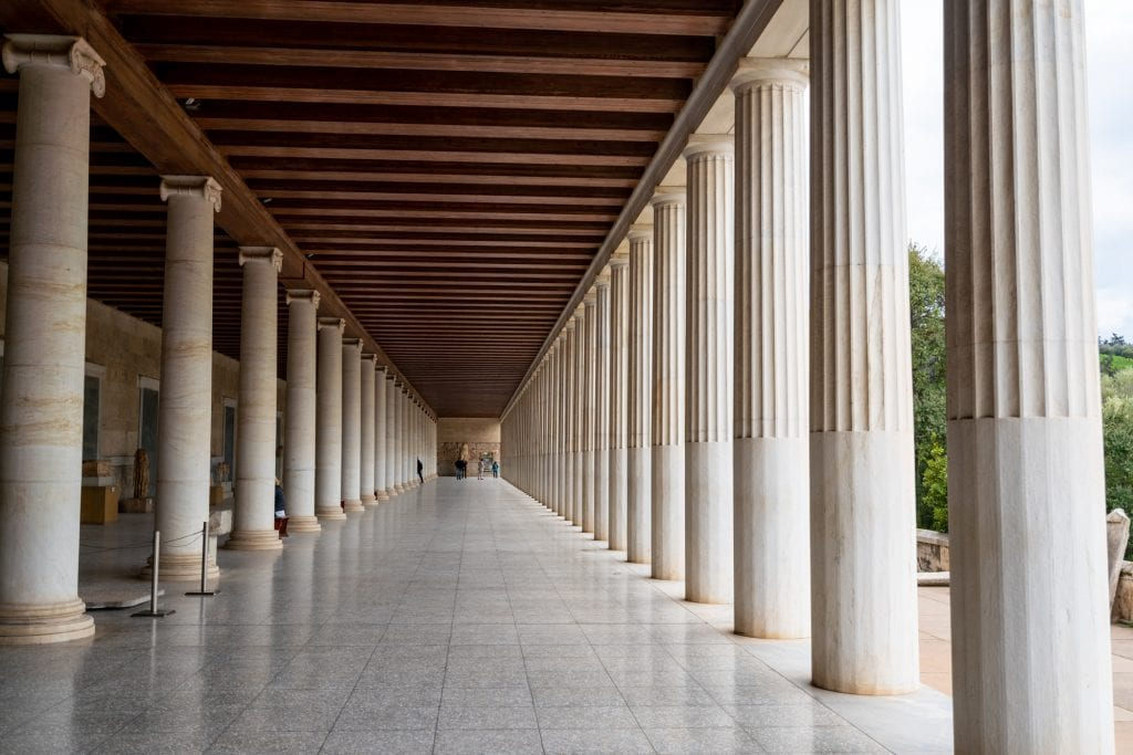 Ancient Agora Museum in Athens, 2 day Athens itinerary