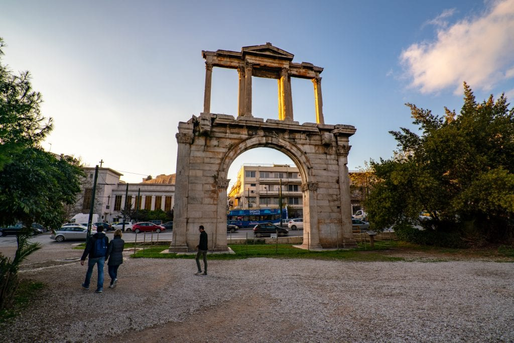 Hadrian's Arch, 2 day Athens itinerary