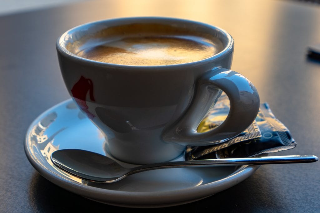 Fun Things to Do in Dubrovnik Croatia: Close up photo of a cup of coffee
