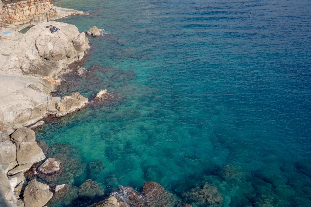 Fun Things to Do in Dubrovnik Croatia: View of Adriatic Sea from Above