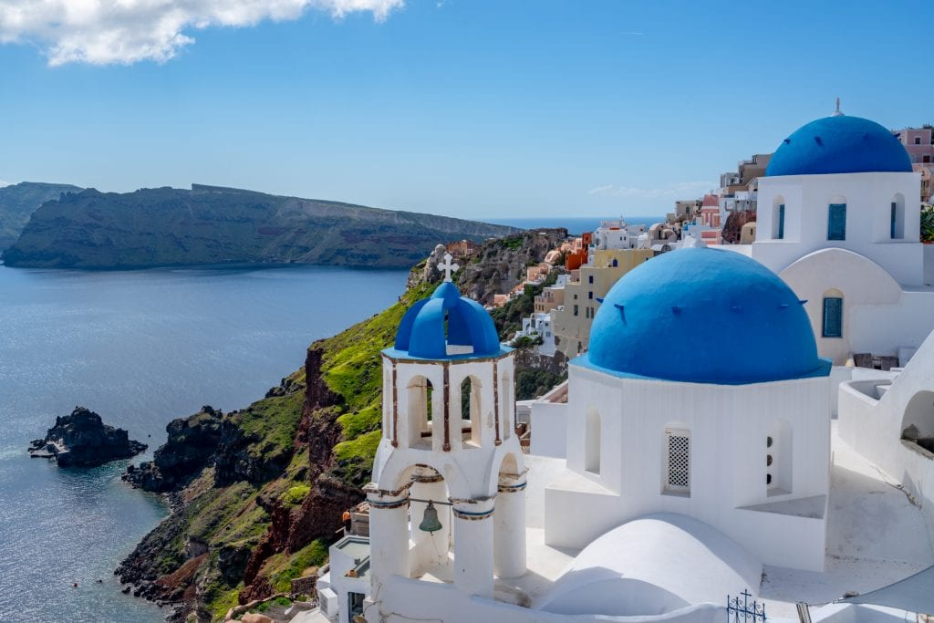 3 blue domes of Santorini, 3 days in Santorini itinerary