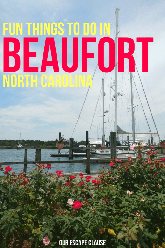 Fun Things to Do in Beaufort, North Carolina #beaufort #northcarolina #nc #beaufortnc #crystalcoast #southernouterbanks