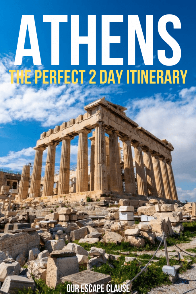 The Perfect 2 Day Athens Itinerary: #athens #greece #greecetravel #travel