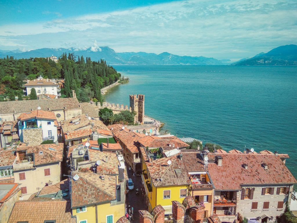 Overview photo of Sirmione, Italy