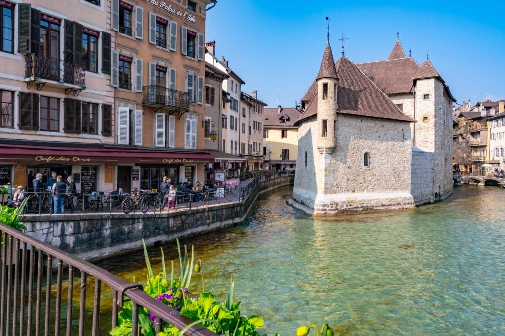 Palais de l'Isle, one of the most fun things to do in Annecy France
