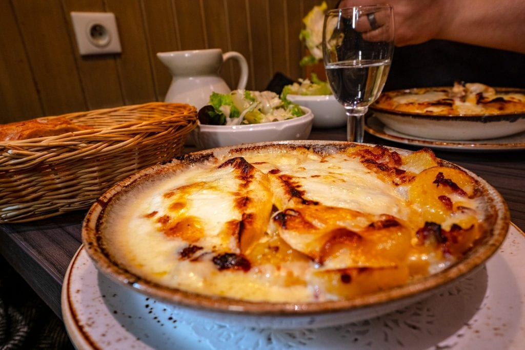 Tartiflette from Le Freti in Annecy, France