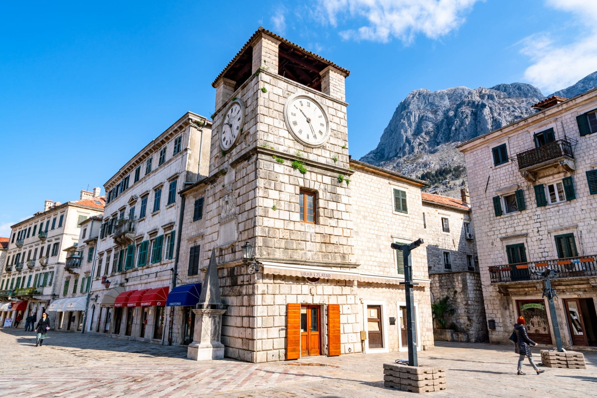 Clock tower in Kotor Old Town: Best Things to Do in Kotor Montenegro