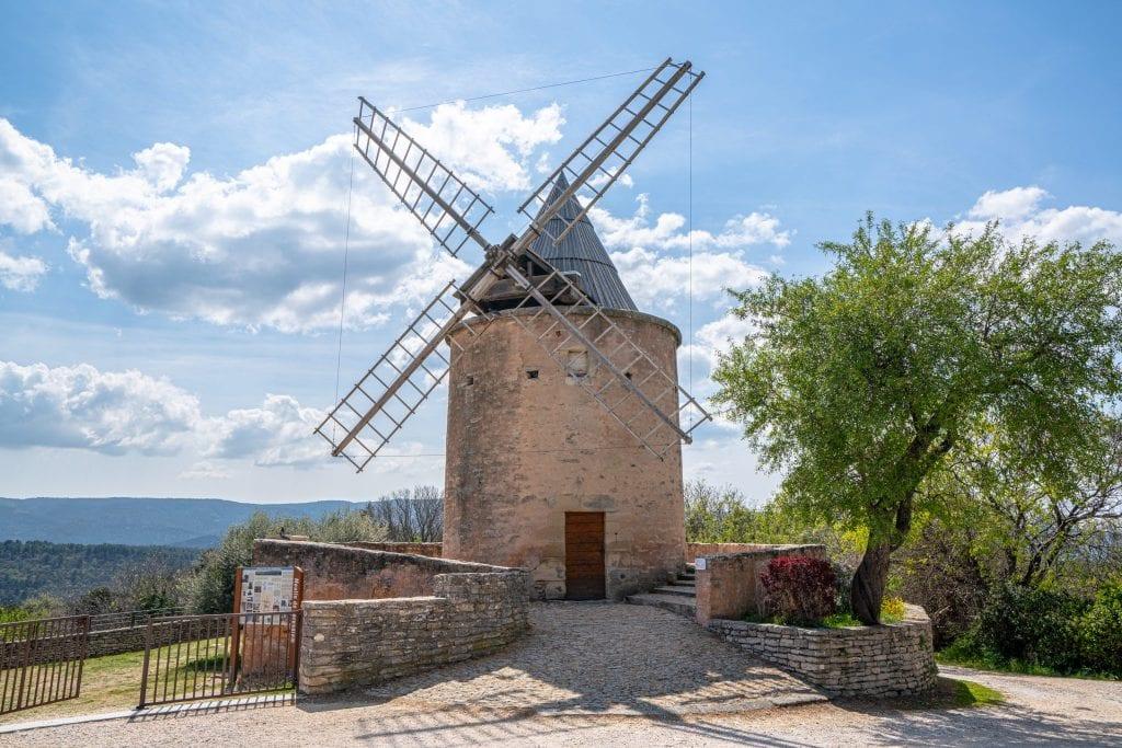 Jerusalem Windmill in Goult France