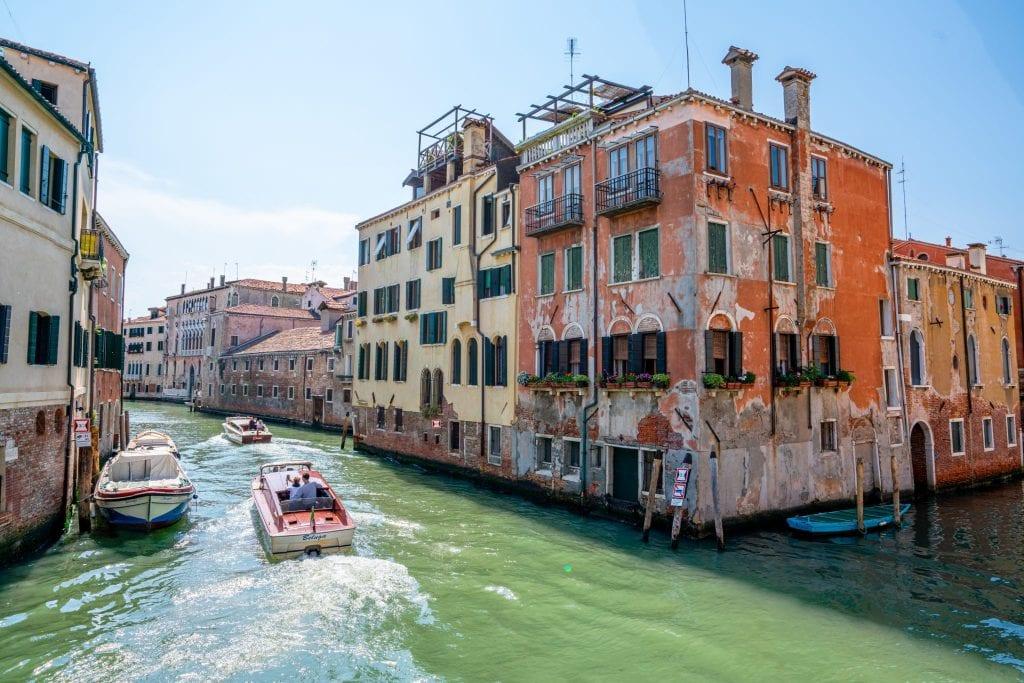 Canal in Cannaregio, Venice