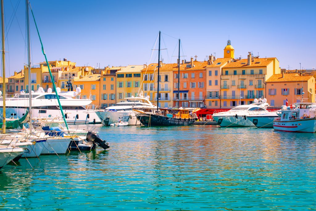 harbor of st tropez in the south of france road trip itinerary