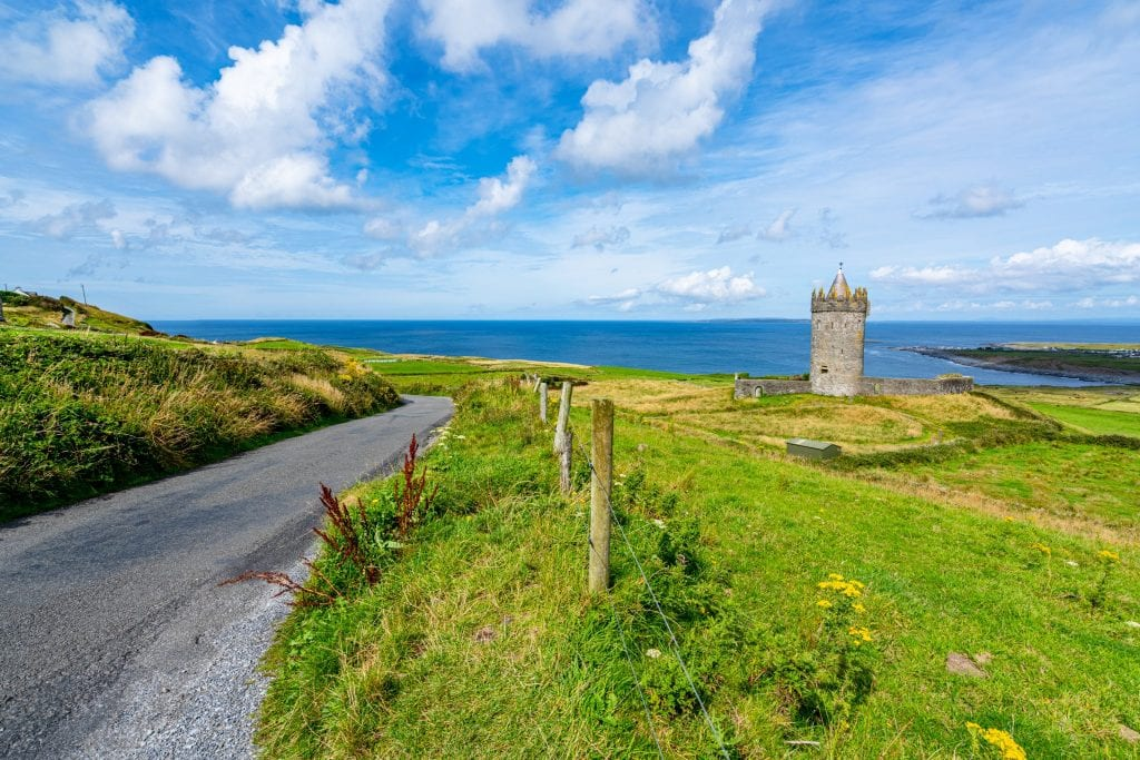 Photo of Doonagore Castle near Doolin Ireland