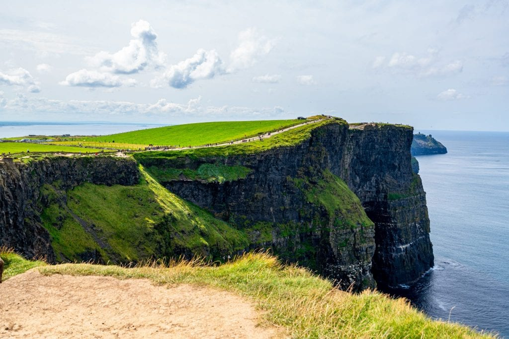 Small piece of the Cliffs of Moher Coastal Trail