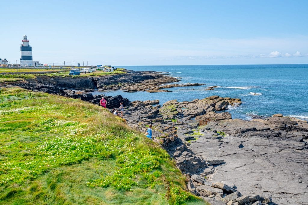 Hook Lighthouse in County Wexford Ireland