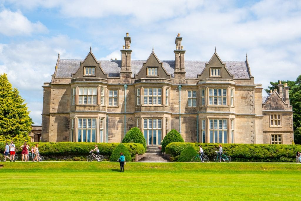 Muckross House in Killarney National Park, Ireland--well worth seeing during 10 days in Ireland!