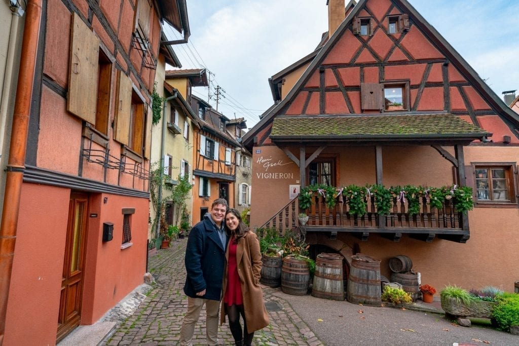 Kate Storm and Jeremy Storm Eguisheim