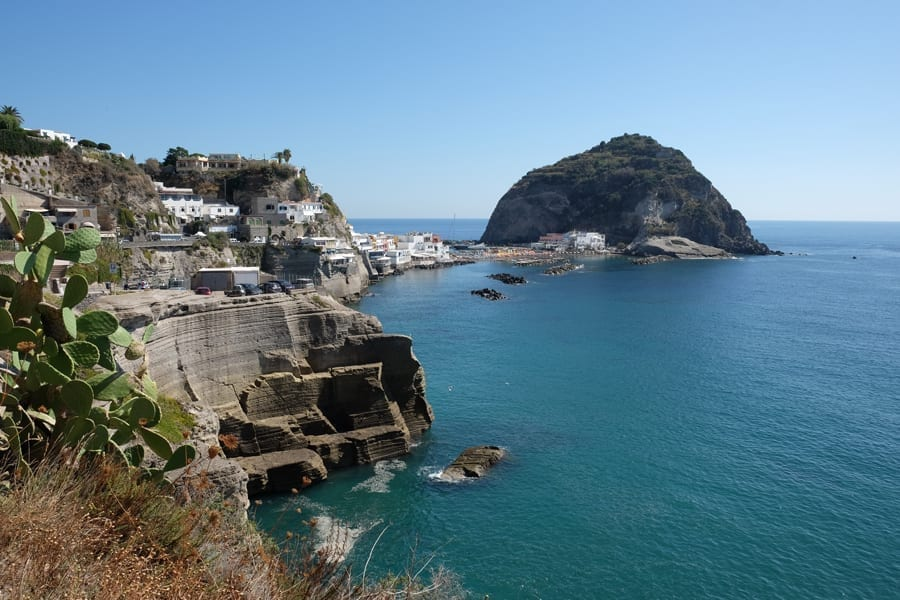 Sant Angelo Ischia from above