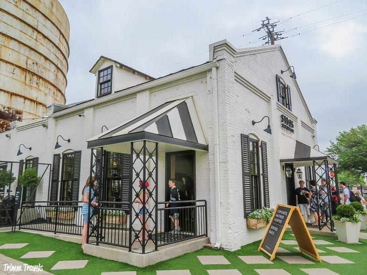 Exterior of bakery at Magnolia Market in Waco Texas, one of the best places to visit in Texas