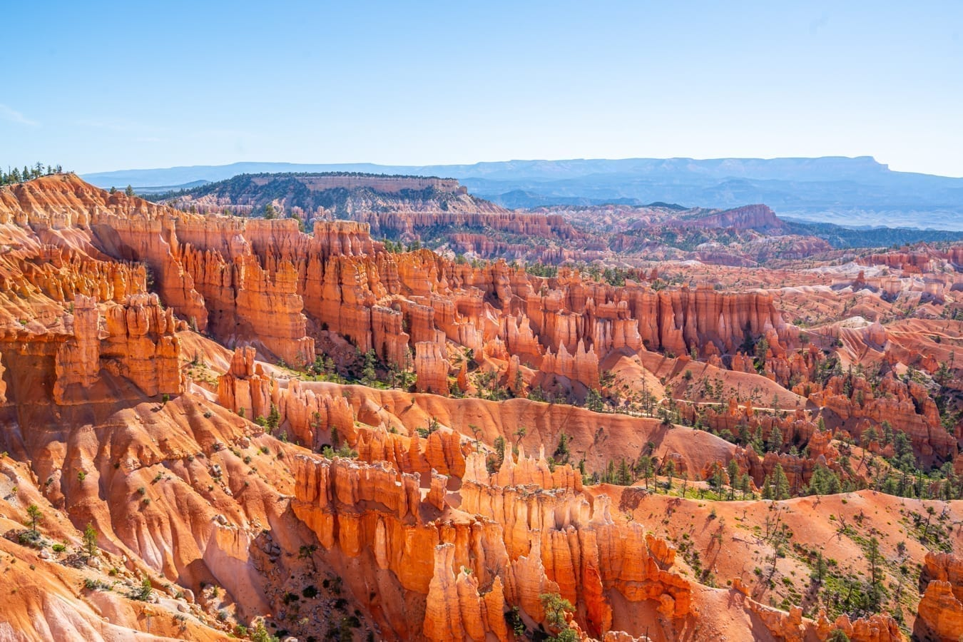 View of Bryce Canyon amphitheater from above--seeking out views like this is the meaning behind most of the best things to do in Bryce Canyon NP