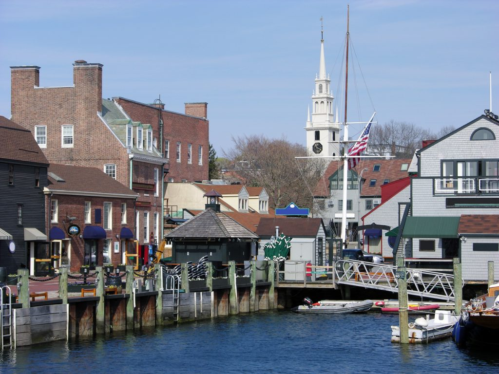 harbor of newport rhode island, one of the best small towns in the united states