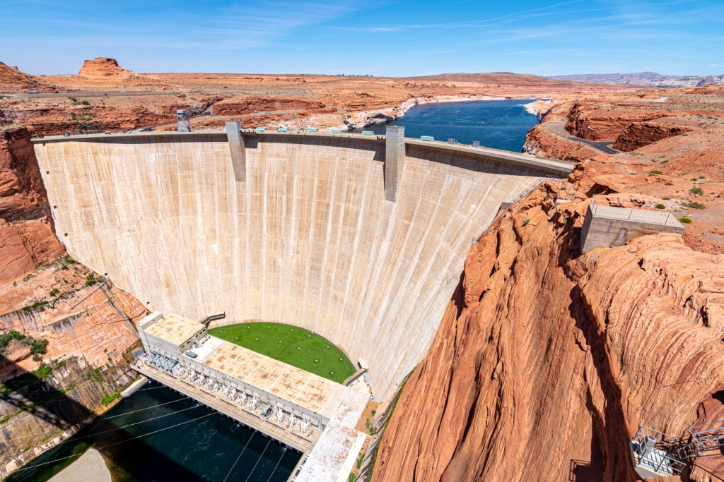 glen canyon dam in page arizona