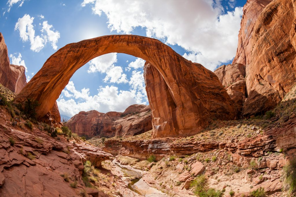 rainbow bridge national monument in arizona