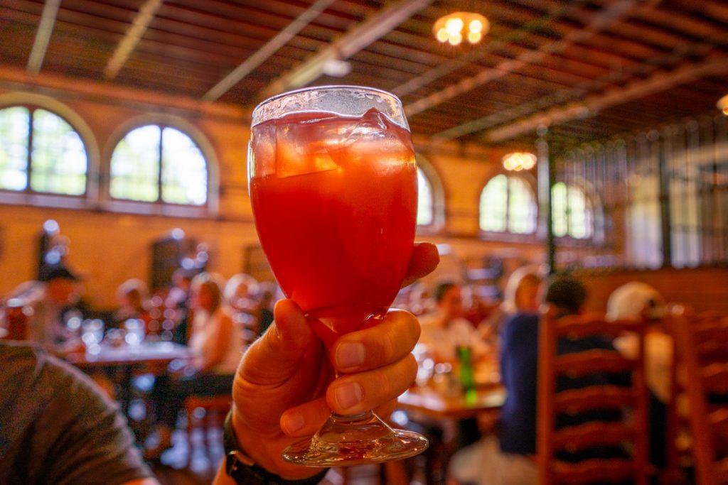 blackberry lemonade at stable cafe biltmore