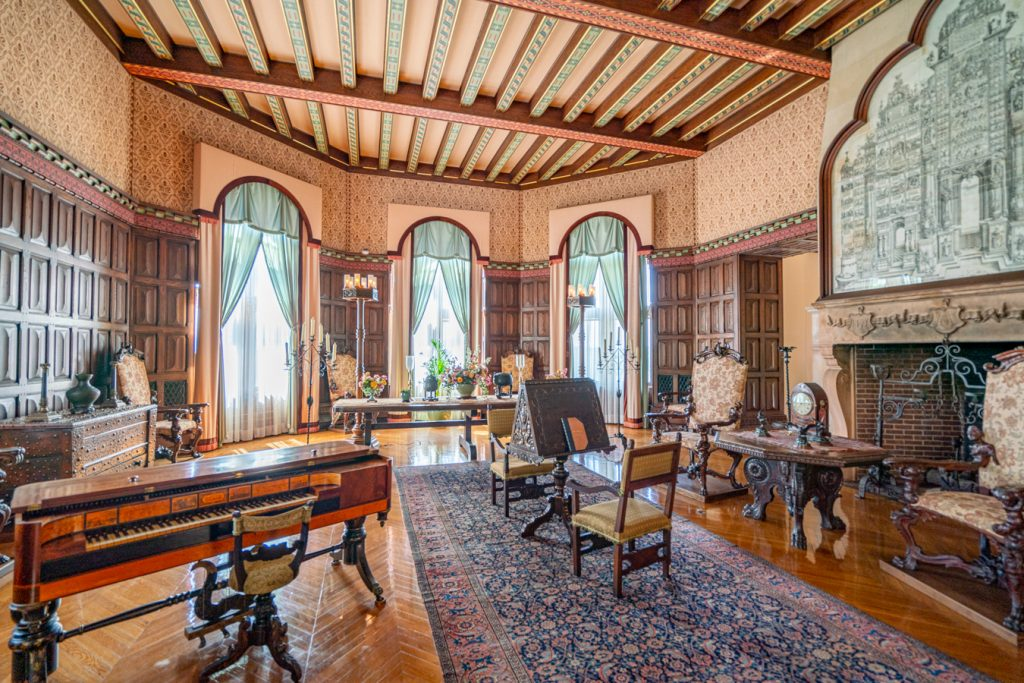 music room as seen during a tour biltmore tips