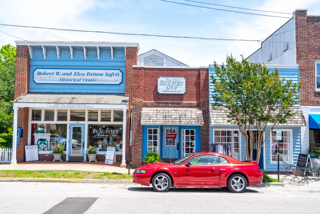 storefronts in beaufort nc attractions