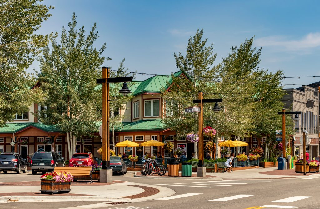 downtown breckenridge colorado on a summer day, one of the best bucket list colorado travel destinations