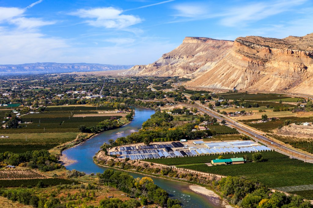 aerial view of grand junction colorado best places to visit