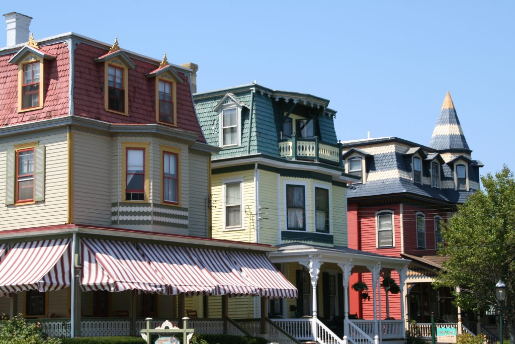 victorian homes in cape may new jersey, one of the offbeat tourist attractions in the us